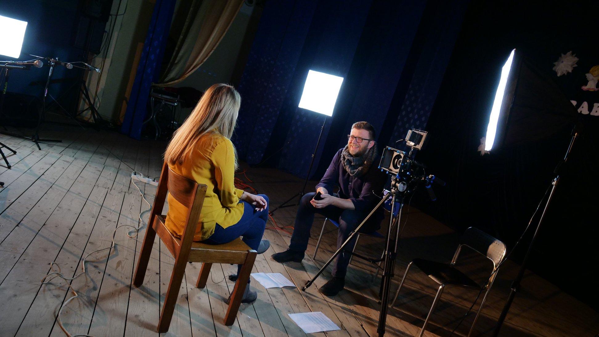 knowit polska backstage filmowanie